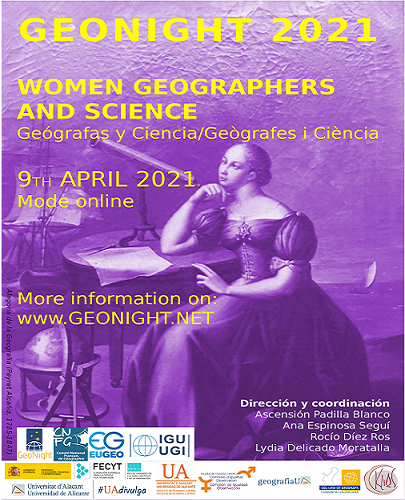 WOMEN GEOGRAPHERS AND SCIENCE